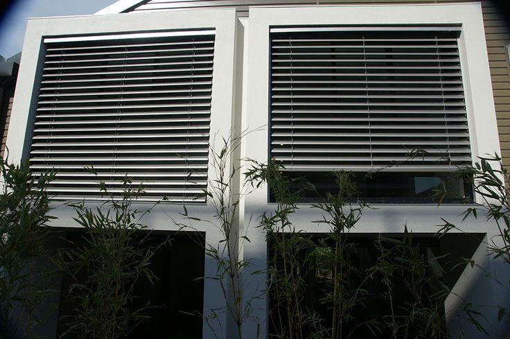 schenker shadewell blinds reefing external retractable aluminium awnings louvres