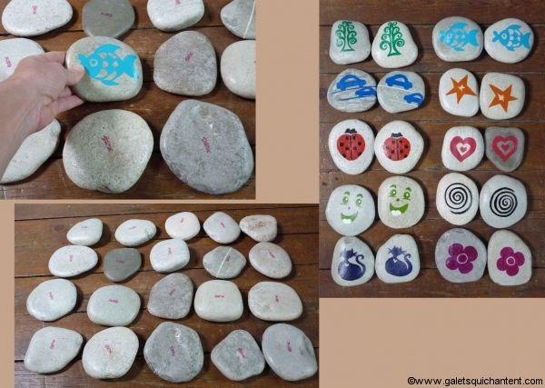 jeu m mo galet rigolo jouer avec des galets play with pebbles pinterest galets rigolo et jeu. Black Bedroom Furniture Sets. Home Design Ideas
