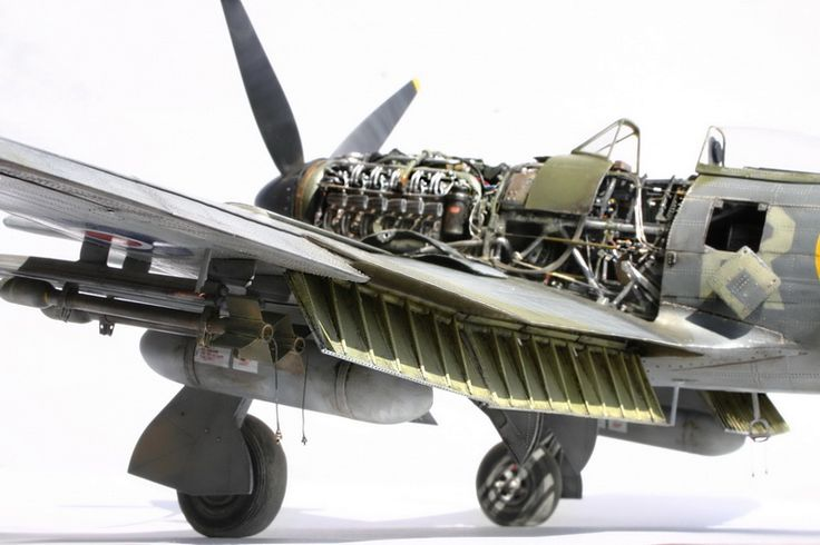 Airfix 1/24 Hawker Typhoon Mk Ib | Large Scale Planes