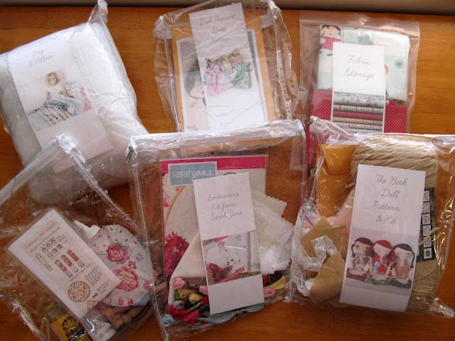 Put Together Craft Kits For The Budding Sewists Crafters In Your Life Cute Gift