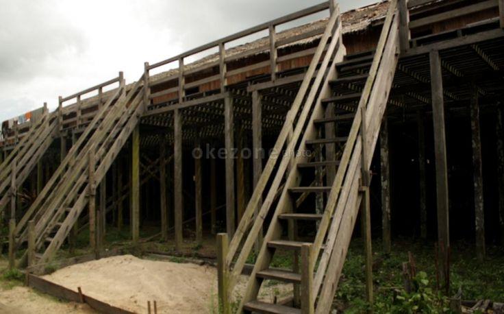 Rumah Panjang Saham, Obyek Wisata Unik Kalimantan Barat - Forum Bisnis & Lifestyle