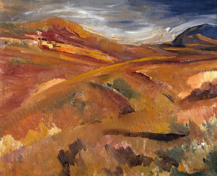 David Bomberg - Tregor and Tregoff, Cornwall - 1947