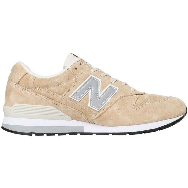 NEW BALANCE 996 Suede Sneakers - Beige (€76) ❤ liked on Polyvore featuring shoes, sneakers, zapatillas, обувь, beige, new balance, new balance trainers, suede shoes, new balance sneakers and suede trainers