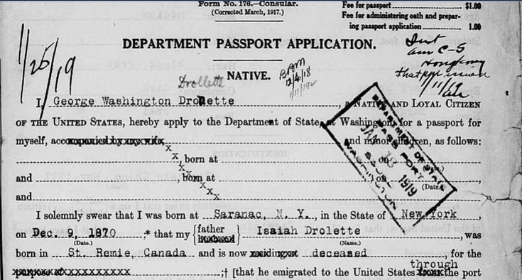 United States Passport Applications, 1795-1925 | Genealogy Tip of the Day
