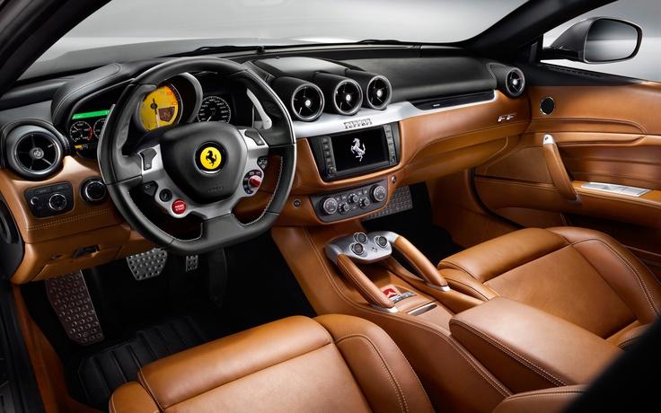 Ferrari FF cockpit