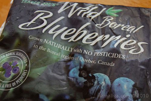 Trader Joe's Wild Boreal Blueberries