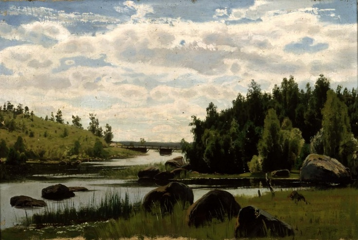 """Fanny Churberg – Like No Other Woman Before, summer exhibition at the Turku Art Museum 1 June - 2 September 2012, showcases the work of Fanny Churberg (1845–1892), one of the foremost Finnish landscape painters. // """"That which is innermost – passion – that is what I would like to reveal, but then I am ashamed that I cannot – because I am a woman. Few women ever became such magicians. Fanny Churberg did."""" - Helene Schjerfbeck, 1921."""