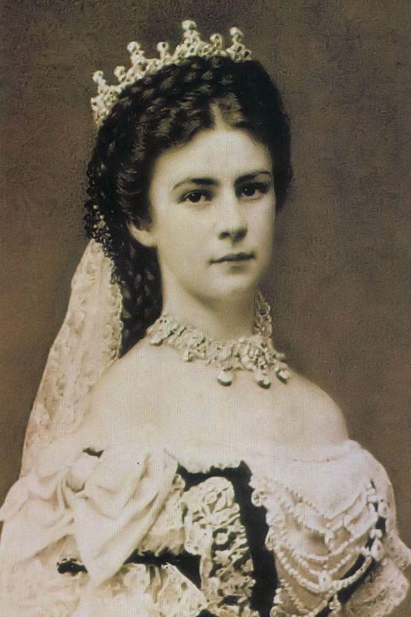 "Imperatriz Elisabete da Áustria, a famosa ""Sissi"""