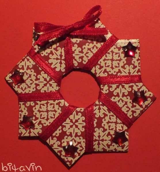 Diese Origami-Sterne sind ganz einfach zu basteln….