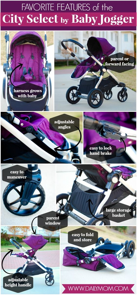 Daily Mom » Stroller Guide: City Select by Baby Jogger I want in the quartz color!