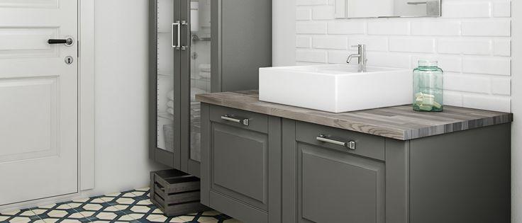 Geef jouw badkamer een warme en klassieke uitstraling met een Ponte badkamer. Kvik levert meer dan keukens. Kom binnen en bekijk ons coole badkamerassortiment. Kvik Amsterdam. www.kvik.nl