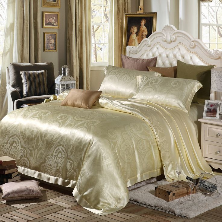 38 best images about quality silk bedding sheets on. Black Bedroom Furniture Sets. Home Design Ideas