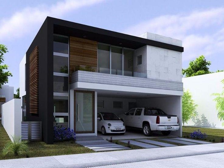 17 mejores ideas sobre dise os de garaje independiente en for Casas minimalistas modernas con cochera subterranea