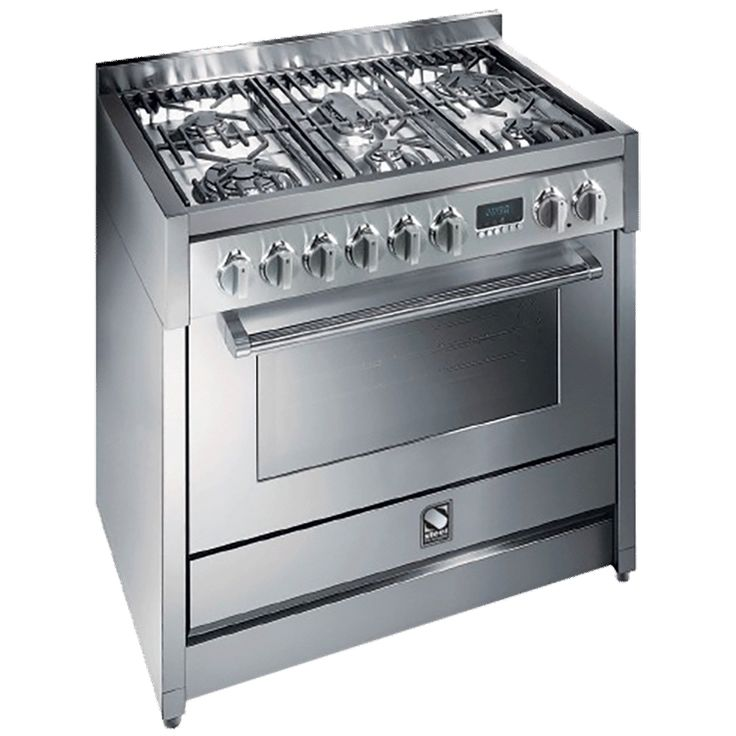 Steel Genesi 900mm upright cooker (model G9S-6W)  for sale at L & M Gold Star (2584 Gold Coast Highway, Mermaid Beach, QLD). Don't see the Steel product that you want on this board? No worries, we can order it in for you!