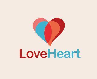 love heart logo freelogo free logoletter logolove heartlogo design