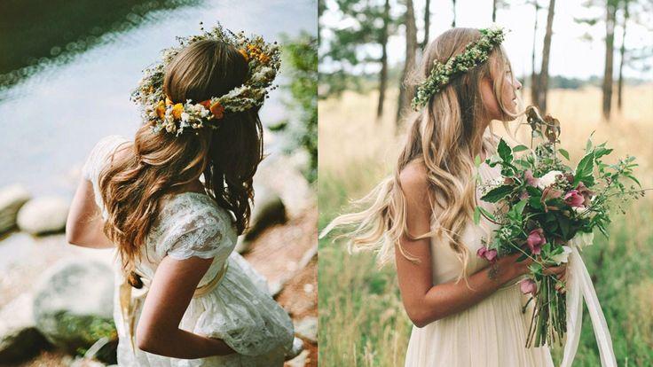 Vankas det bröllop, fest eller vill du bara drömma dig bort? Här är tio inspirationsbilder på vackra håruppsättningar vi gärna bär när vi säger ja.
