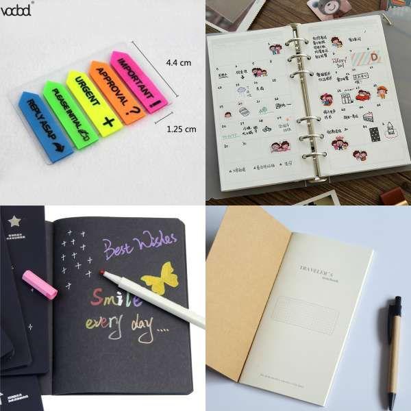 6 pcs//pack Korean cat Paper Sticker Decoration Diary Scrapbooking Label children