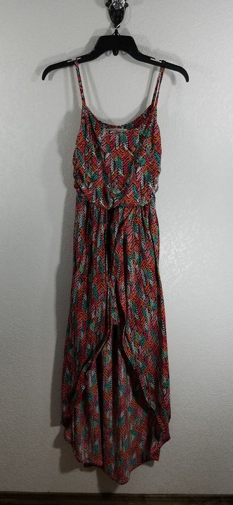 DEREK HEART WOMEN'S SUN DRESS. STYLE: SLEEVELESS, MAXI DRESS- HI LOW-COMFY, STRETCHY. | eBay!