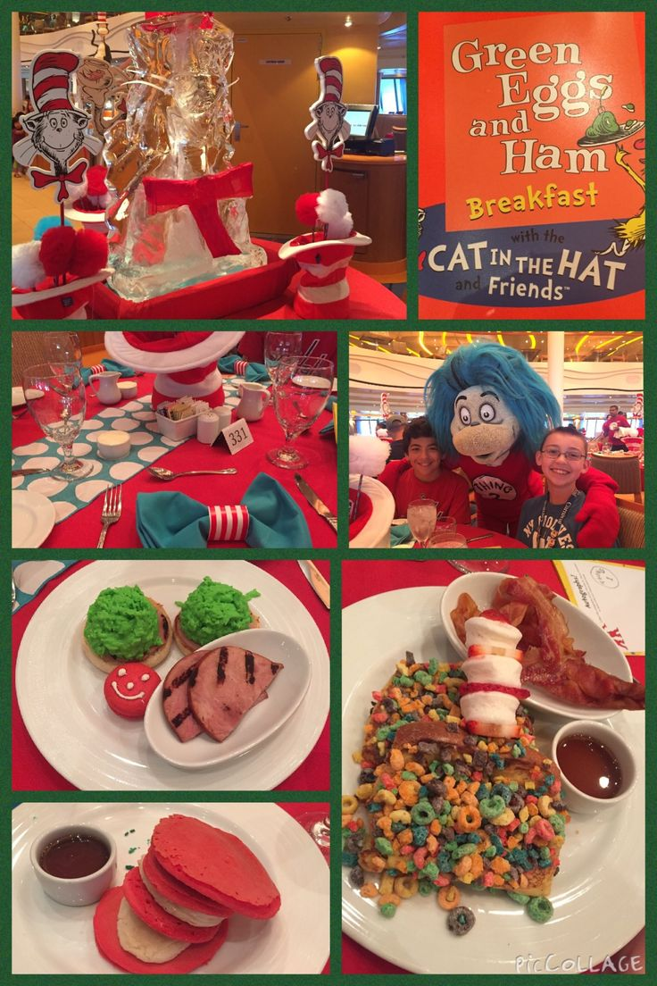 Dr. Suess Breakfast - Carnival Cruise