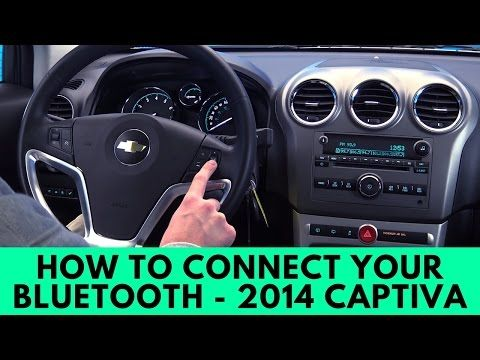 2014 Chevy Captiva: How to Connect Bluetooth -  Best sound on Amazon: http://www.amazon.com/dp/B015MQEF2K - http://gadgets.tronnixx.com/uncategorized/2014-chevy-captiva-how-to-connect-bluetooth/