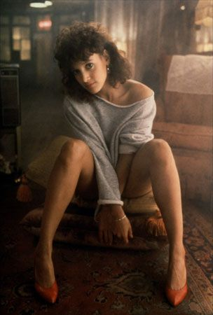 Jennifer Beals busted onto the scene with her iconic role in the movie, 'Flashdance'.  Who can forget this image from that movie!