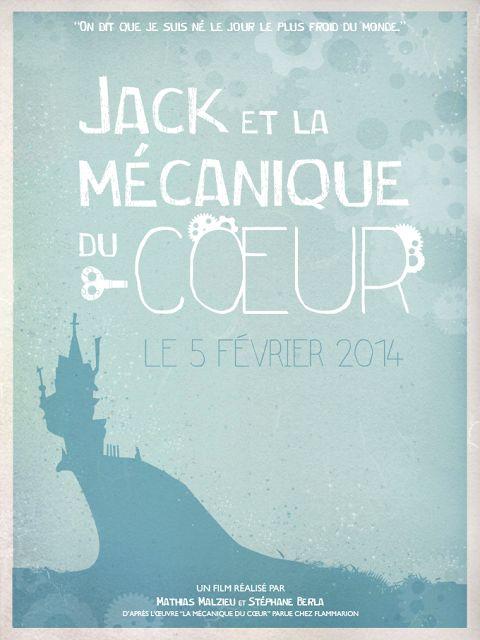 Typhon's drawings: Jack et la mécanique du coeur Poster by Tiphaine Perrouault. #LaMecaniqueDuCoeur #JackEtLaMecaniqueDuCoeur The boy with a cuckoo-clock heart poster.