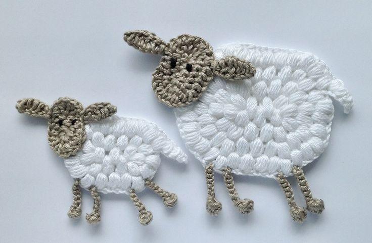Knitting Pattern With Animals Motifs On : 25+ best ideas about Crochet Sheep on Pinterest Crochet animals, Crocheted ...