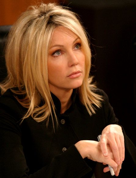Heather Locklear as Amanda Woodward - Melrose Place