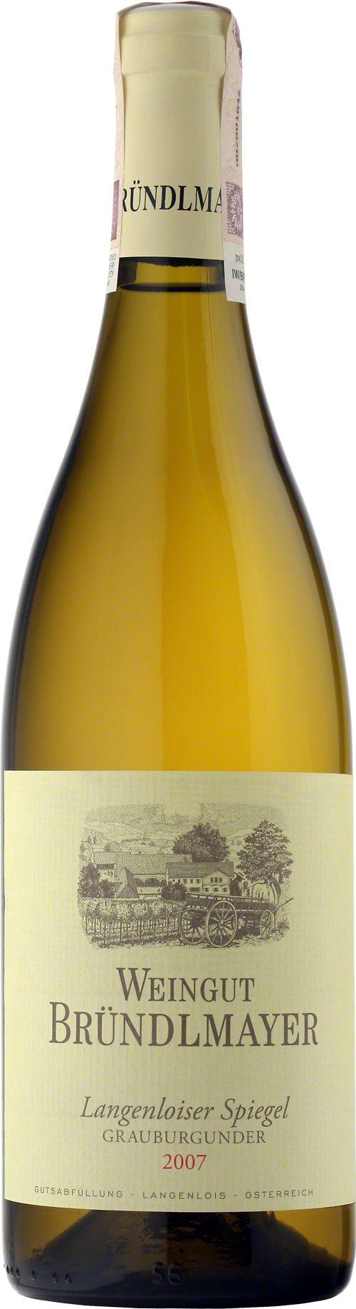 Bründlmayer Langenloiser Spiegel Grauburgunder Cudowny, nasycony żółty kolor, silny bukiet pełen egzotycznych owoców, dopełniony akcentami orzechów, przypraw i tytoniu. Eleganckie wino z bogatą, silną strukturą. #Brundlmayer #Langenloiser #Spiegel #Grauburgunder #Wino #Austria #Winezja