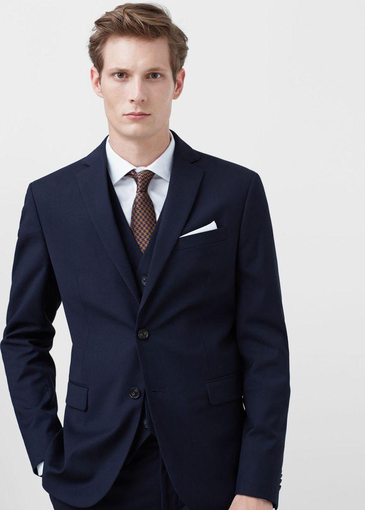 Americana traje slim-fit | MANGO MAN