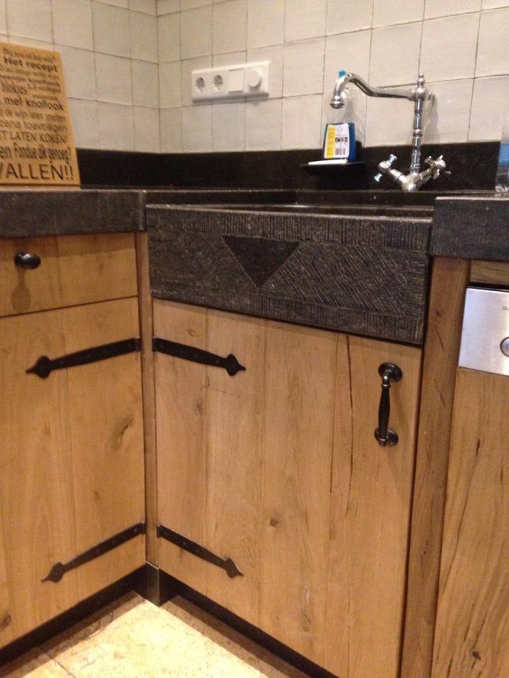 37 beste afbeeldingen over keukens op pinterest wastafels valken en met - Redo keuken houten ...