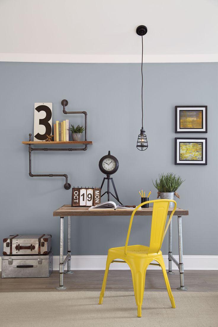 Color Journeys 'Zinc' (412C) & 'Citronite' (225E). Available at your local General Paint dealer.