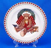 Debbie Mumm Sakura Christmas Bears Wreath Salad Plates  sc 1 st  Pinterest & 195 best Debbie Mumm 25 Years of Design images on Pinterest ...
