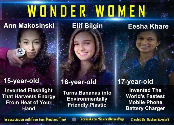 Amazing young women.