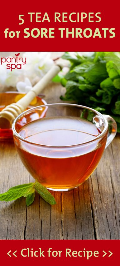 If youve found yourself with a cough, cold, or other ailment that leaves your throat sore and scratchy, but dont want to go the natural remedy route, check out these recipes for helpful teas
