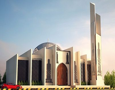 """Check out new work on my @Behance portfolio: """"Mosque Design"""" http://be.net/gallery/40233001/Mosque-Design"""