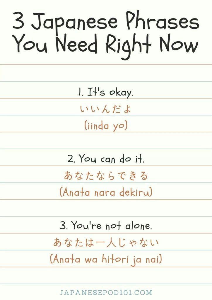 Japanese Phrases JapanesePod101 #japaneselanguage