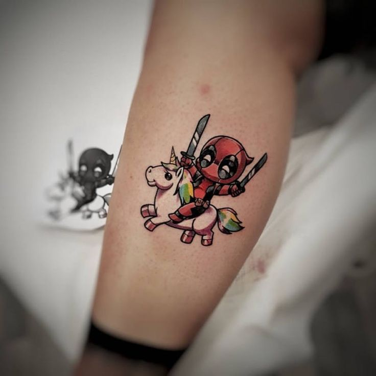 Deadpool by Daniele Maiorano #deadpool #unicornio #unicorn #comics #nerd  – Aniitaamaaaw20