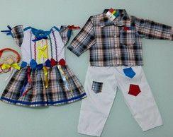 Resultado de imagem para roupas de sao joao meninos