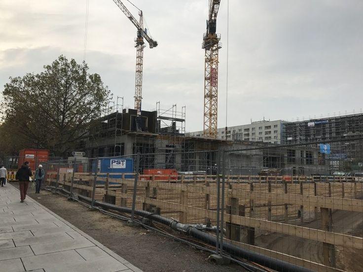 Der Rohbau des Projektes Haus Merkur II in Dresdens Zentrum geht erfolgreich weiter. Die Untergeschosse und das Erdgeschoss sind fertiggestellt, jetzt ist das 1. Obergeschoss im Bau. www.haus-merkur.de
