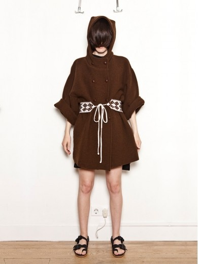 I could see this being in my fall wardrobe ! Ivana Helsinki Knitted Wool Coat  #fallfashion #fallstyle #aw12