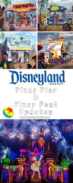 Pixar Pier & Pixar Fest Updates at the Disneyland Resort