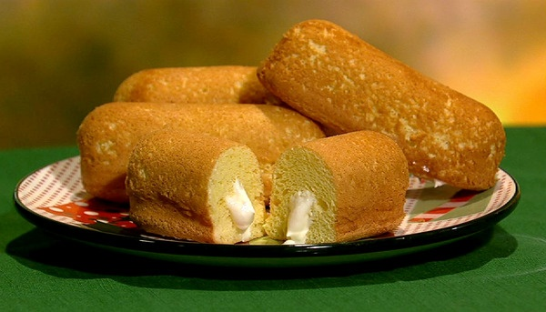 From The Chew: Michael Symon's Homemade Twinkies | Still not exactly health food, but I suspect that the homemade version is healthier than the original.