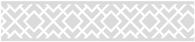 "Diamond 15' x 6"" Geometric Border Wallpaper"