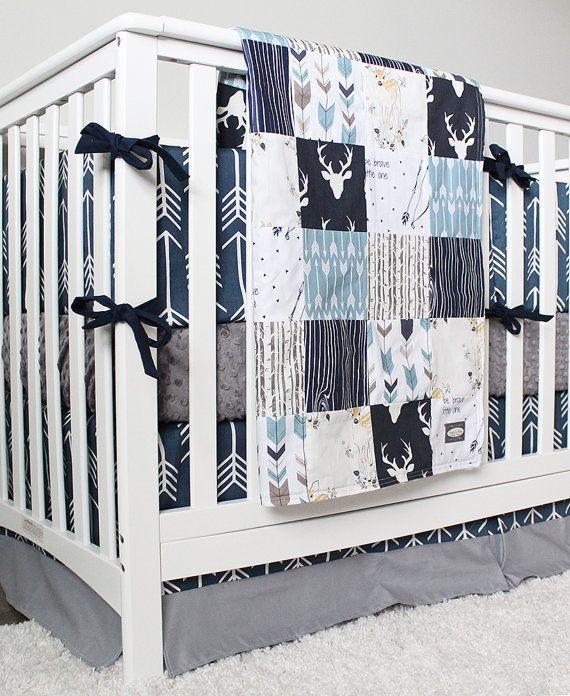 Arrow Crib Bedding Woodlands And Arrow Baby Boy By Gigglesixbaby Boys Crib Bedding Sets Baby Boy Cribs Baby Boy Room Nursery