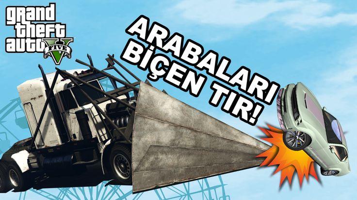 Arabaları Biçen Süper Tır 2.500.000$ - GTA 5 Online Türkçe