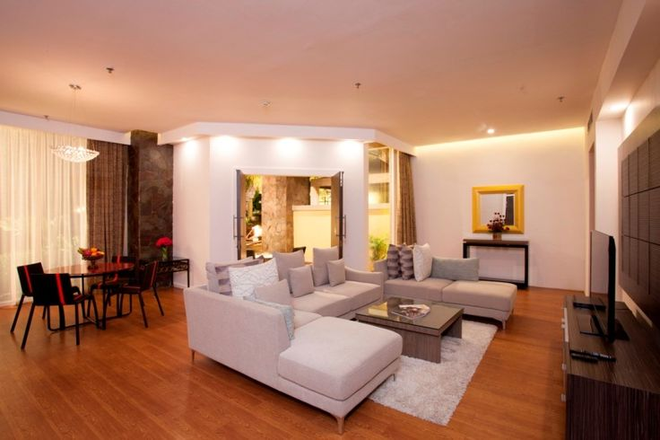 living room the grand suite room at Kuta Paradiso Hotel Bali