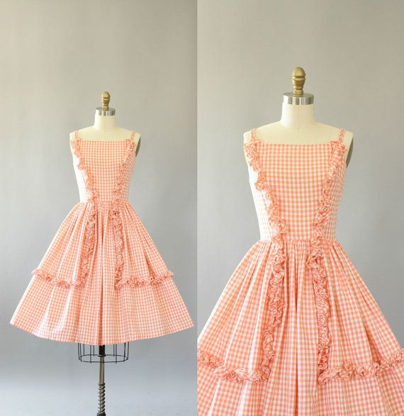 Does it get any peachier?  https://www.etsy.com/listing/245569166/vintage-50s-dress-1950s-cotton-dress