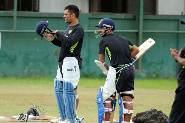 MSDhoni practicing ahead of the 1st ODI against Bangladesh, get latest cricket news here: drcricket7.com