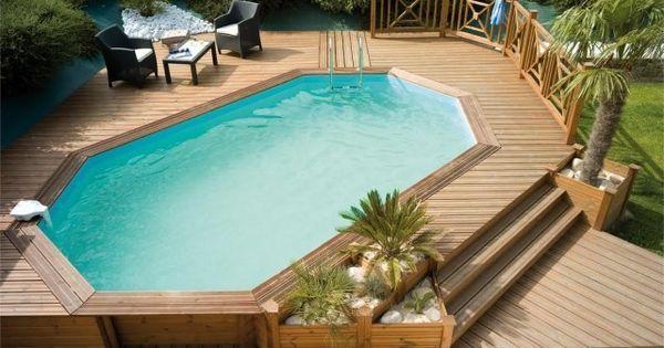 Piscine hors sol bois - idées et conseils pour votre jardin | Piscine Hors Sol and Html